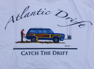 Portsmouth Pocket Tee - L/S - White - Atlantic Drift