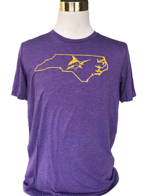 Greenville Vintage Tee - Athletic Fit - Atlantic Drift