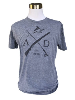 Rod & Gun Vintage Tee - Athletic Fit - Atlantic Drift