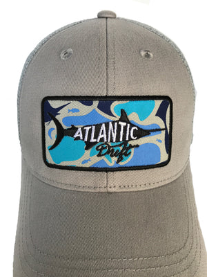 Old Blue Patch Mesh Back - Atlantic Drift