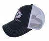Outlaw Mesh-Back Hat - Navy/White - Atlantic Drift