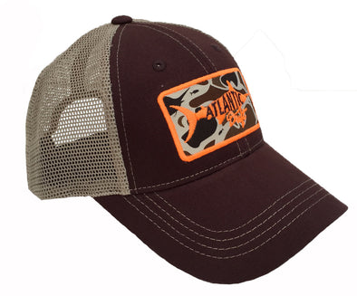Old Blaze Patch Mesh Back - Atlantic Drift