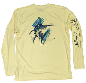 Big Blue Performance Shirt - Yellow - Atlantic Drift