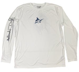 Big Blue Performance Shirt - White - Atlantic Drift