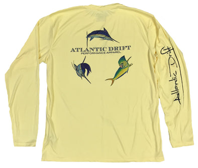 Offshore Performance Shirt - Banana - Atlantic Drift