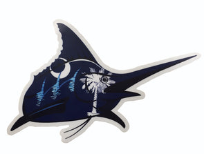 Marlin Logo Sticker - SC Flag - Atlantic Drift