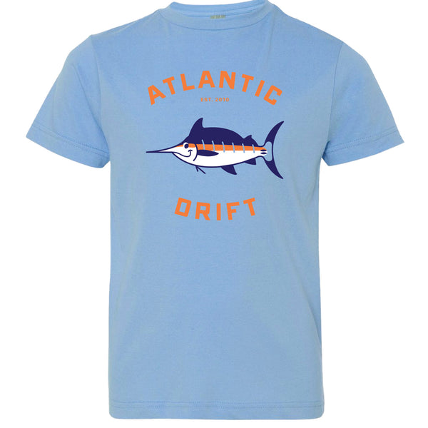 Kids Lil' Marlin Tee - Atlantic Drift