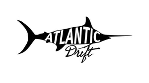 Grander Marlin Die Cut Sticker - Available In 3 Colors - Atlantic Drift