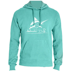 Original Logo Mint Hoodie - Atlantic Drift