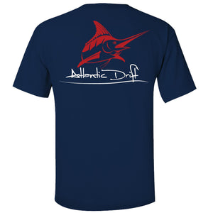 Original Logo Pocket Tee - Atlantic Drift