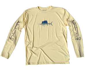 Sailfish Performance Shirt - Yellow - Atlantic Drift