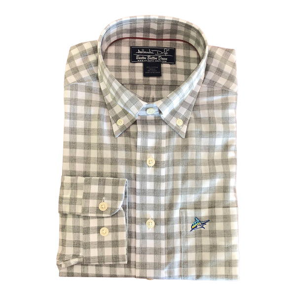 Buxton Button Down - Oyster