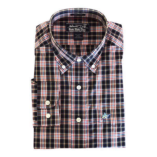 Buxton Button Down - Liberty - Atlantic Drift