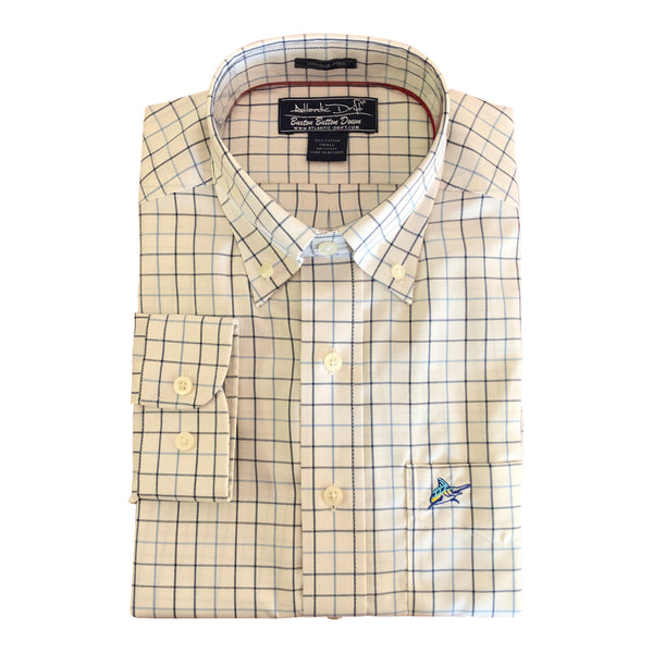 Buxton Button Down - Whitecap
