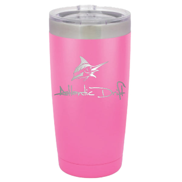 20 oz Tumbler - Pink - Atlantic Drift