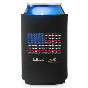 US Flag Koozie - Atlantic Drift