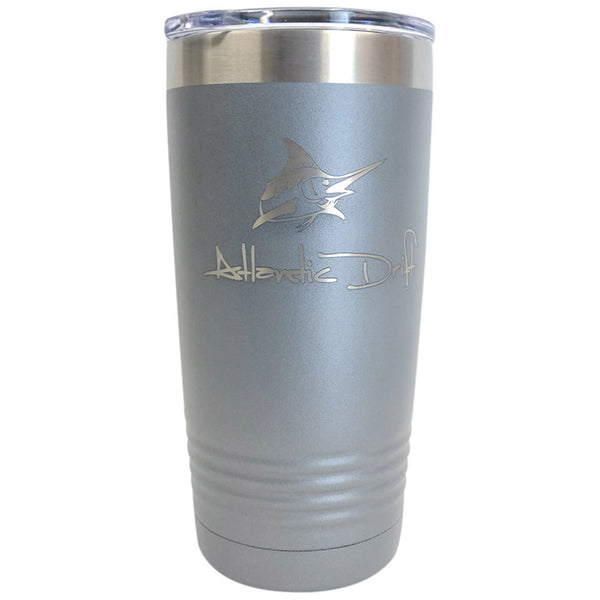 20 oz Tumbler - Silver - Atlantic Drift