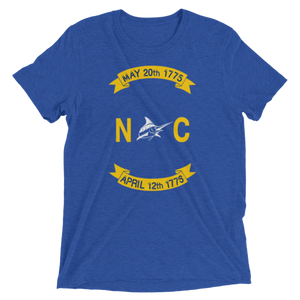 NC Flag Vintage Tee - Athletic Fit - Atlantic Drift