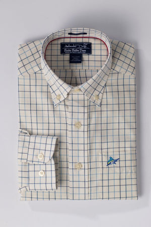 Buxton Button Down - Whitecap - Atlantic Drift