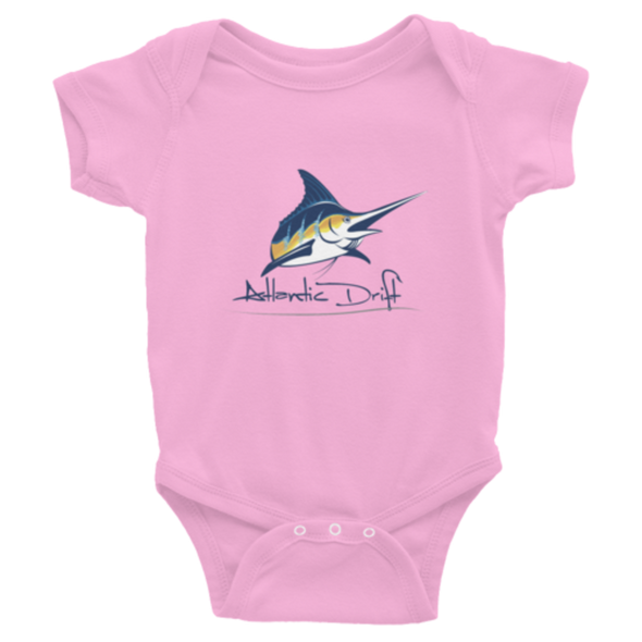 Original Logo Onsie - Pink - Atlantic Drift