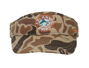 AD Camo Circle Logo Visor - Atlantic Drift