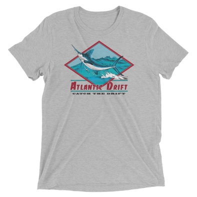 White Marlin Vintage Tee - Athletic Fit - Atlantic Drift