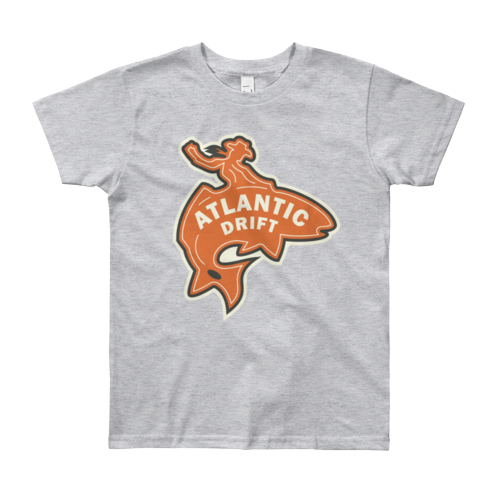 Kids Red Drum Cowboy Tee - Atlantic Drift