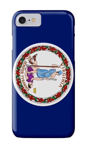 Virginia Flag Case - Atlantic Drift