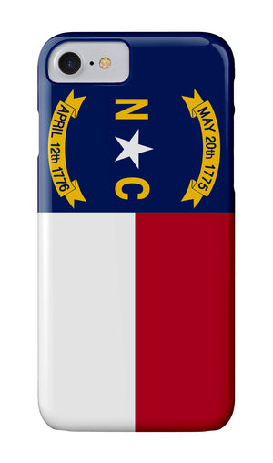 North Carolina Flag Case - Atlantic Drift