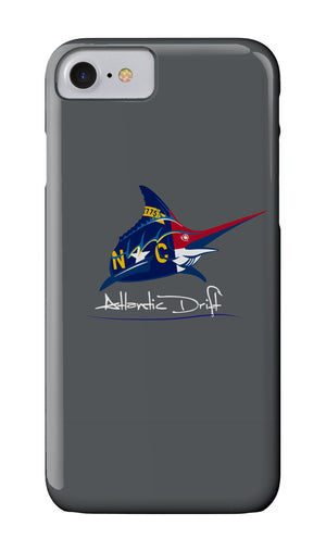 Marlin NC Flag Logo Case - Atlantic Drift