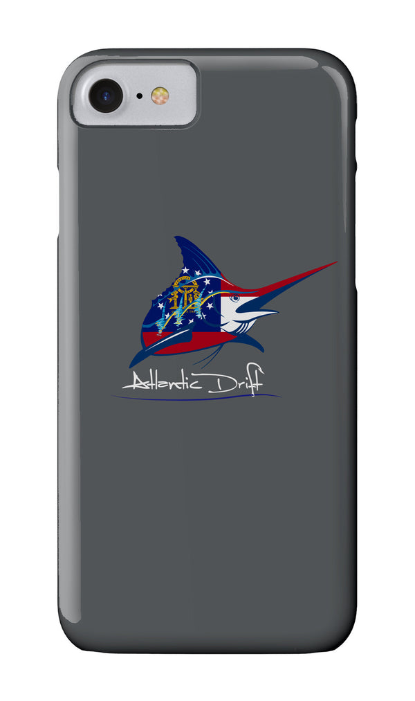 Marlin GA Flag Logo Case - Atlantic Drift