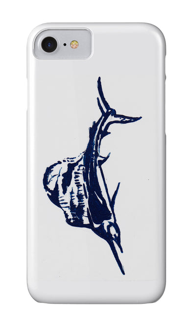 Sailfish Release Flag Phone Case - Atlantic Drift