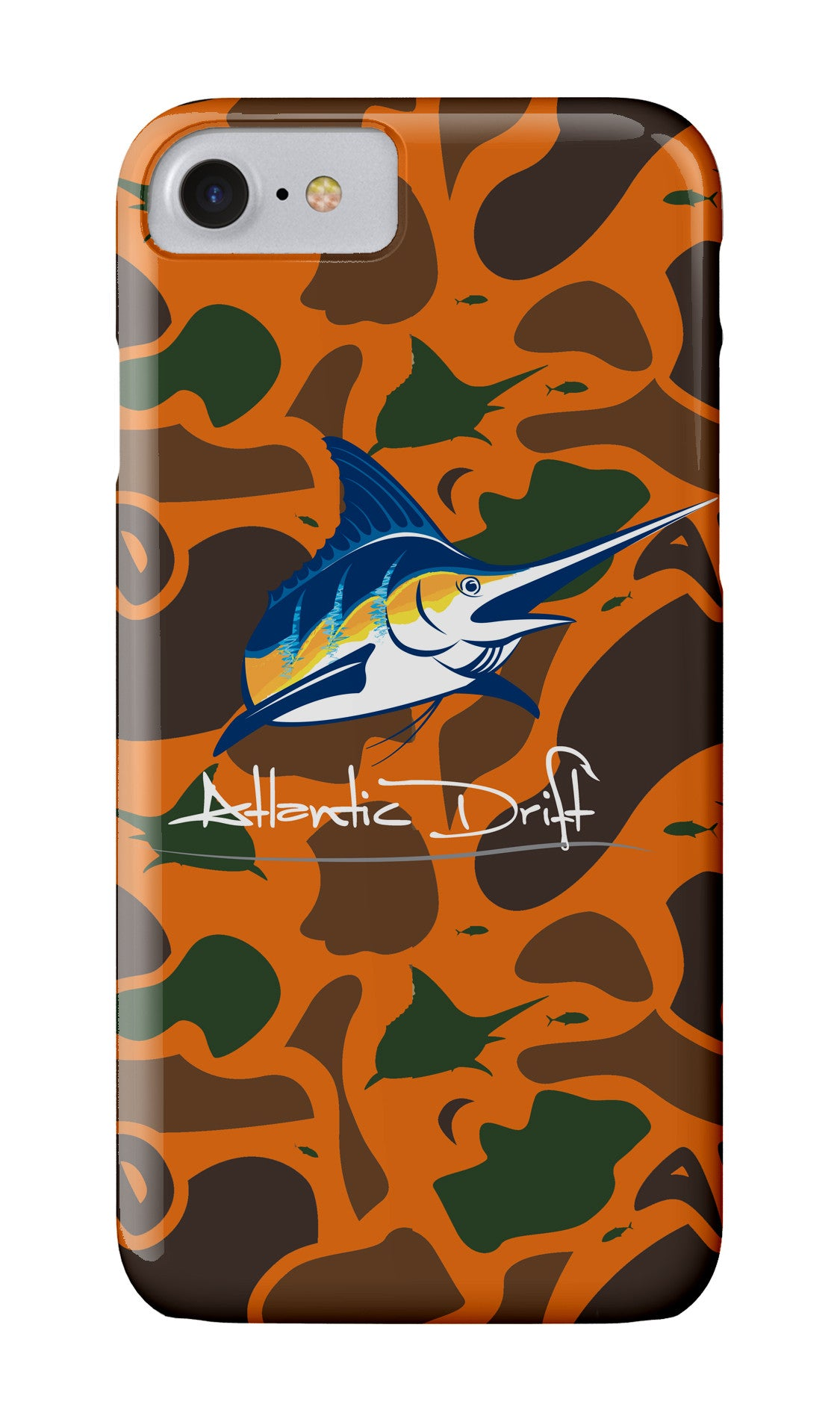 AD Blaze Orange Camo Case - Atlantic Drift