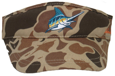 AD Camo Original Visor - Atlantic Drift
