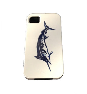 Blue Marlin Release Flag Phone Case - Atlantic Drift