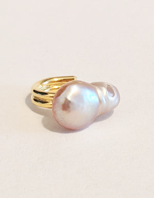 Baroque Pearl Ear Cuff