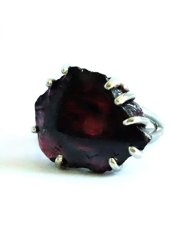 The Rough Garnet Ring
