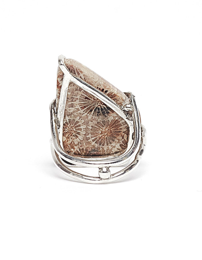 The Fossilized Coral Ring