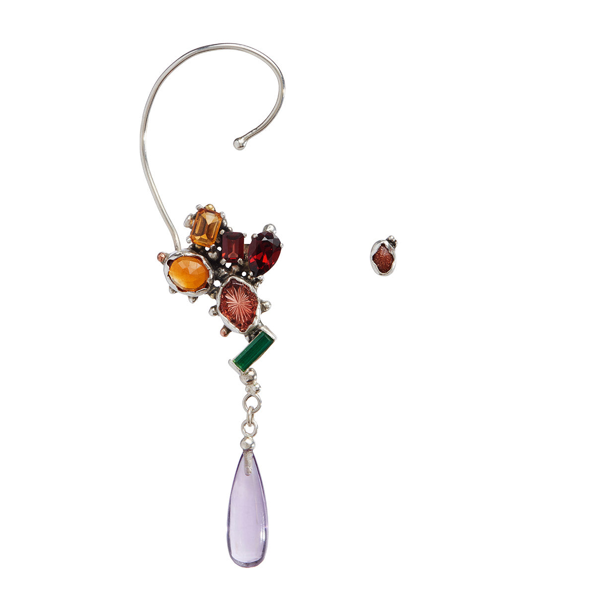 The Bouquet of Flowers Ear Cuff