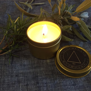 Four elements candle set