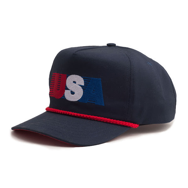 All American Rope Hat - Navy