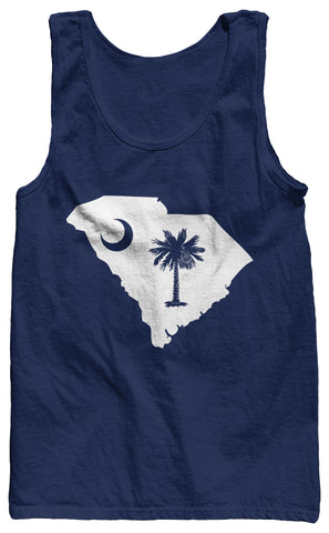 The South Carolina Tank Top - Dark