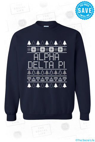 ADPi Ugly Christmas Sweater