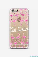 Tri Delta Custom Snap Case