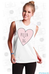 Pizza + DG Muscle Tank