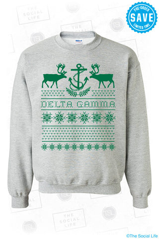 Delta Gamma Christmas Sweater