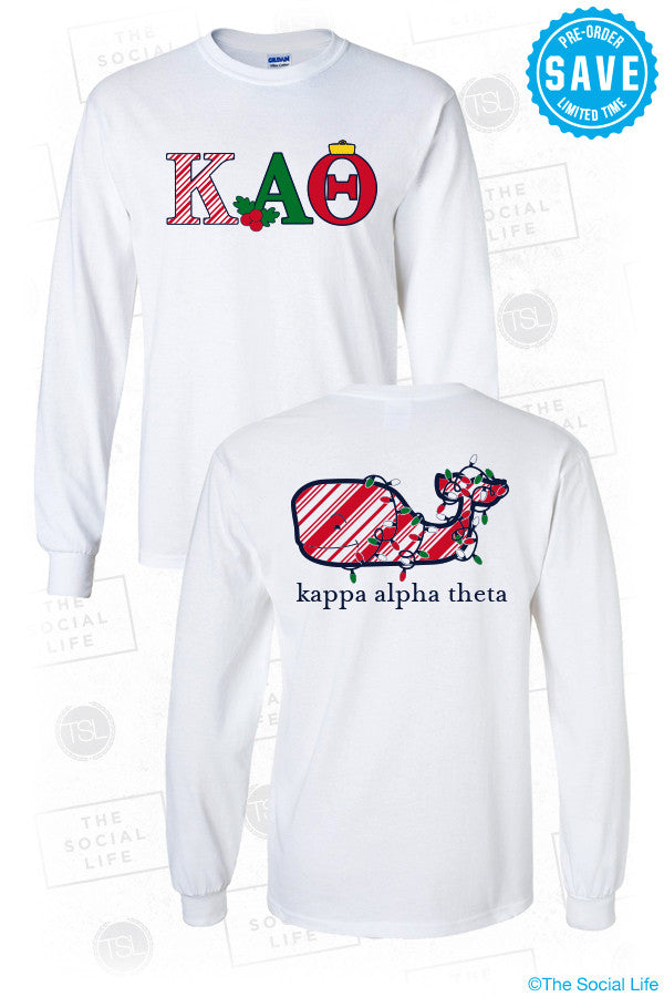 Theta Holiday Longsleeve