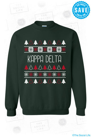 Kappa Delta Christmas Sweater