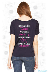 Party Like Gatsby Flowy Tee
