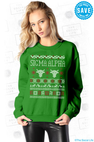 Sigma Alpha Holiday Sweatshirt